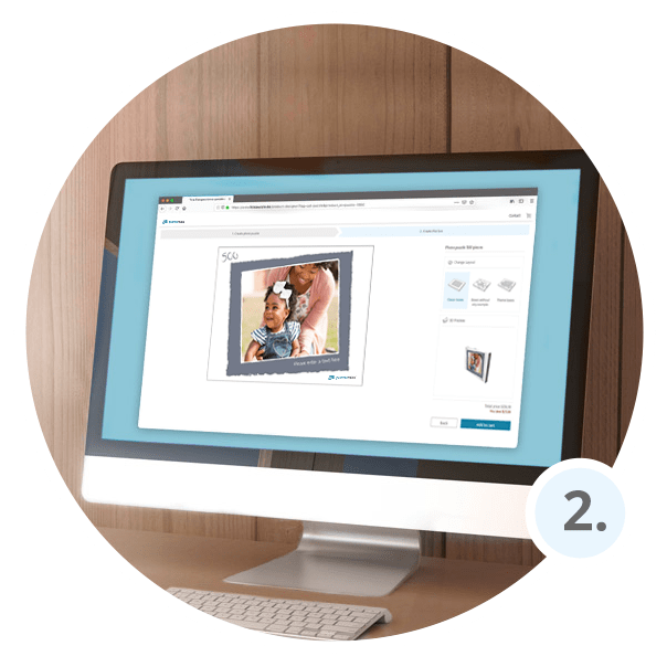 How to make personalized photo puzzle - Step 2