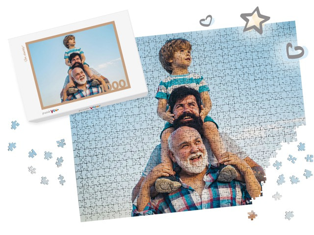 photo puzzle for Father's Day