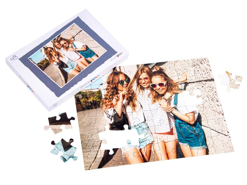 Puzzle box for your photo puzzle with 48 pieces