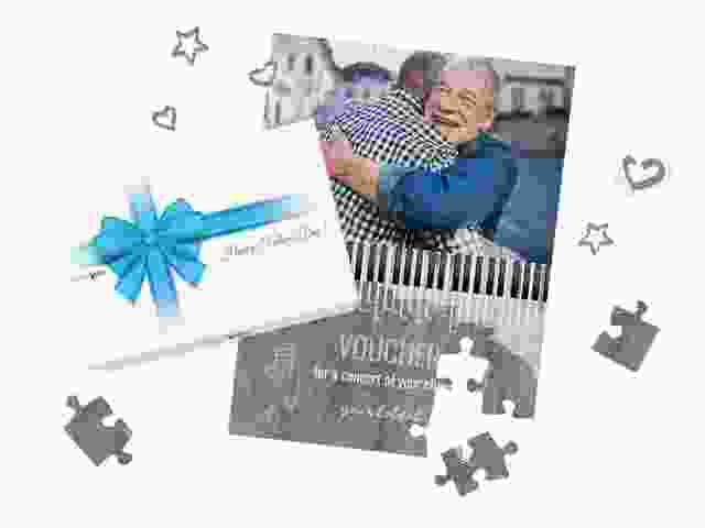 Gift Voucher Puzzle for your dad