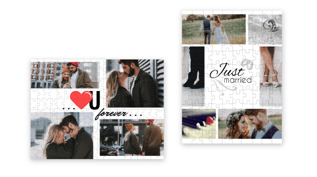 Create a collage as gift for your boyfriend or girlfriend