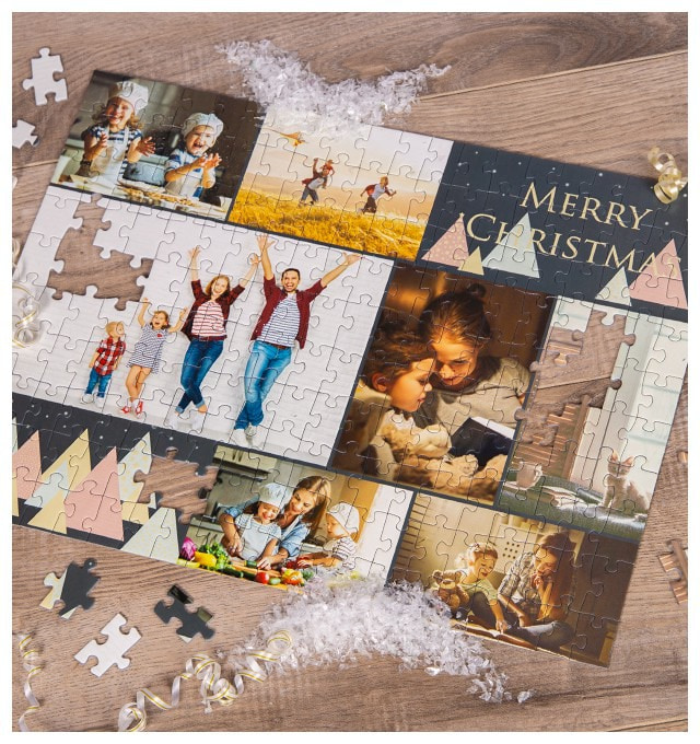 Create a Photo Puzzle Collage
