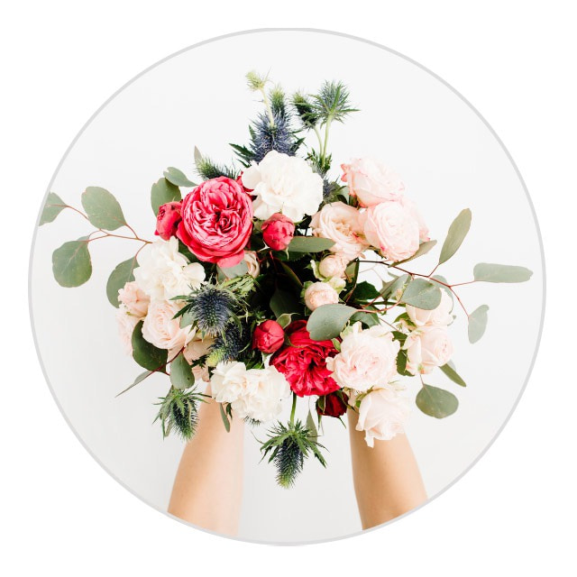ideas for mothers day pictures - flower bouquet