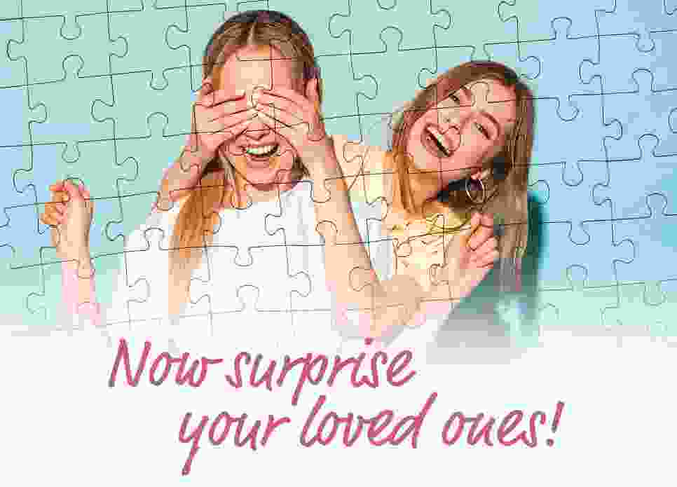 surprise your loved ones with a voucher puzzle