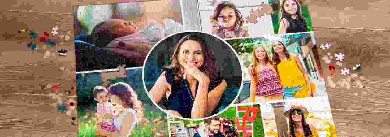 Create your Photo Collage on a Puzzle