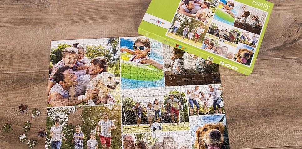 Photo Puzzle Collage