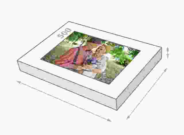 500 piece photo jigsaw puzzle Set size