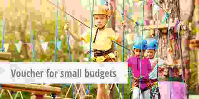 voucher small budgets