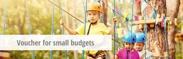 Voucher ideas for small budgets