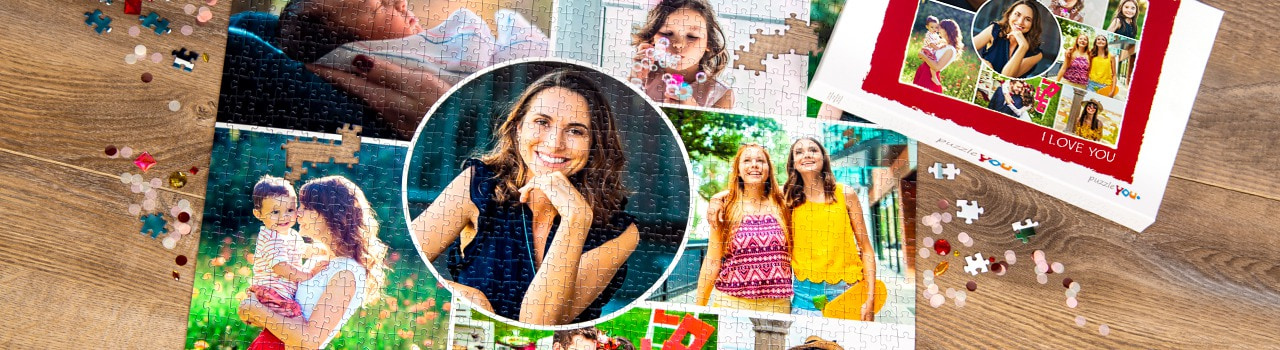 Our product designer - 1001 ideas for your photo puzzle collage