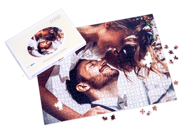 Photo puzzle as a gift