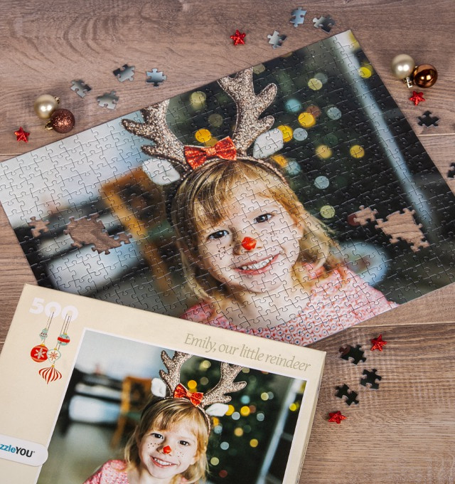 Photo Puzzle as creative Christmas present