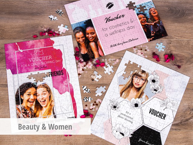 Voucher for beauty & women