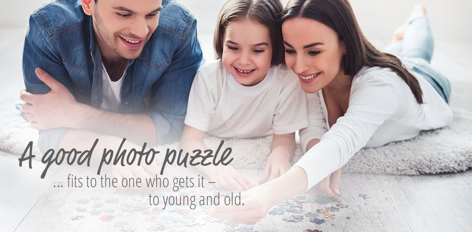 Photo Puzzle: many formats