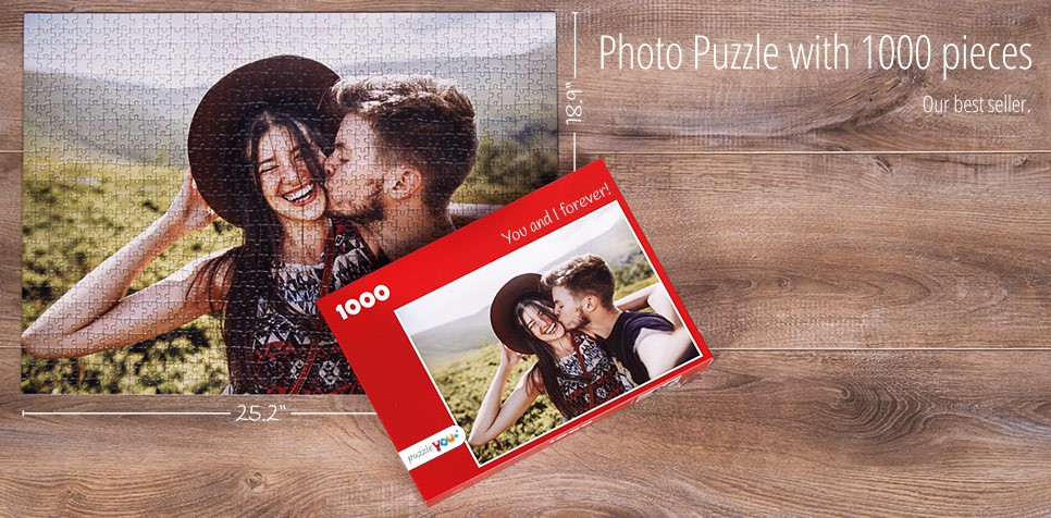 Photo puzzle 1000 pieces