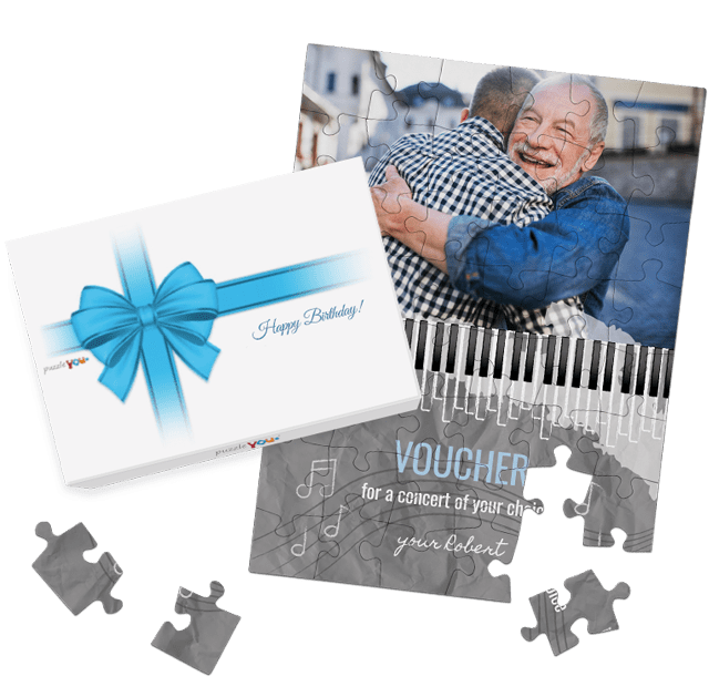 Gift Voucher Puzzle for special occasions