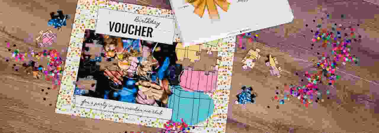 Voucher templates for a wide variety of occasions - birthday