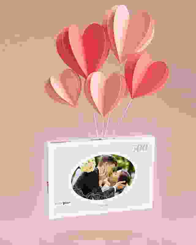 Photo puzzle with your wedding pictures