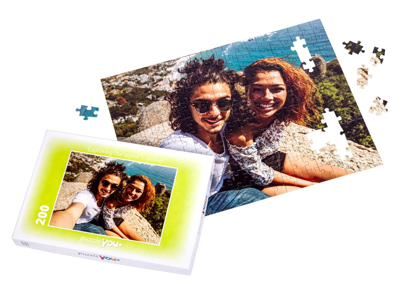 Puzzle box for your photo puzzle with 200 pieces
