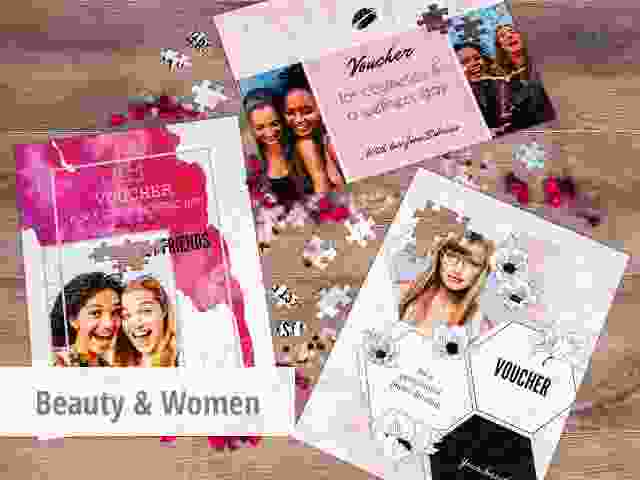 gift voucher for beauty and women