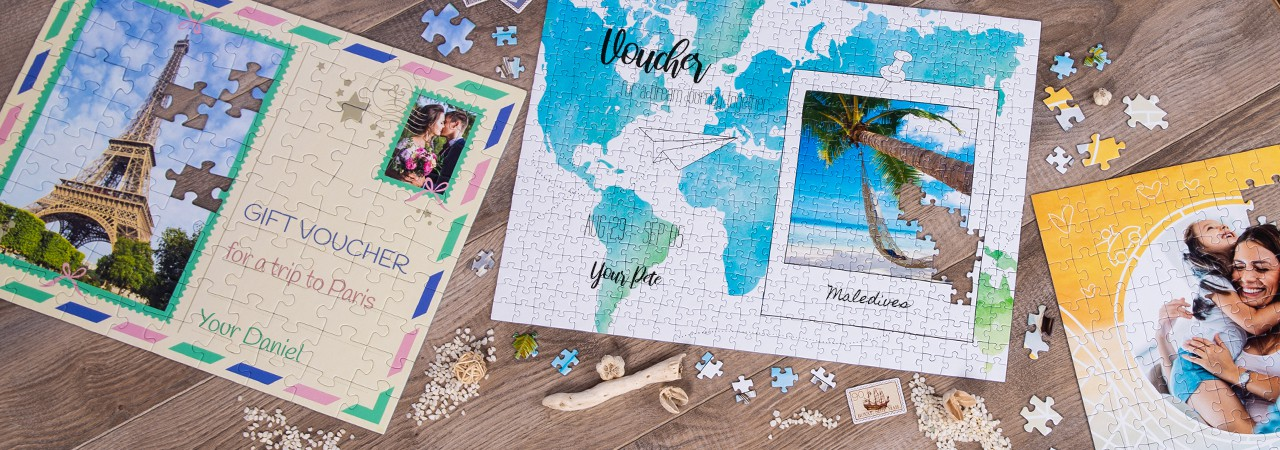 Personal Gift Voucher Puzzle